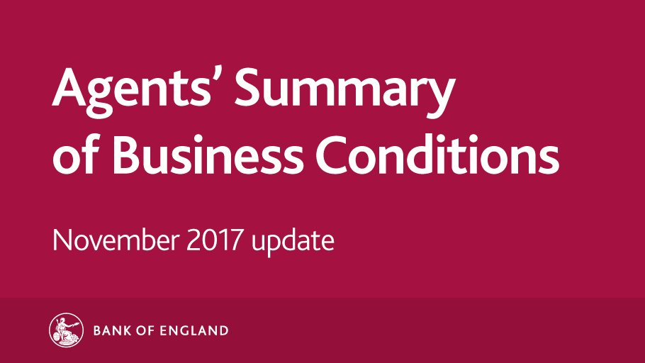 We've just published our Agents' Summary of Business Conditions - November 2017 update. https://t.co/rYxFGOWKCq https://t.co/UrLSUmSK1O
