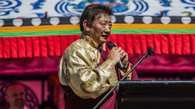 Ground breaking ceremony for the first Tibetan Buddhist temple in Canberra