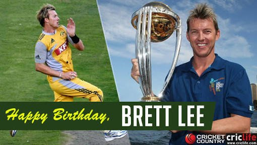Happy birthday one of the powerful fast bowler the world has ever seen Lee .