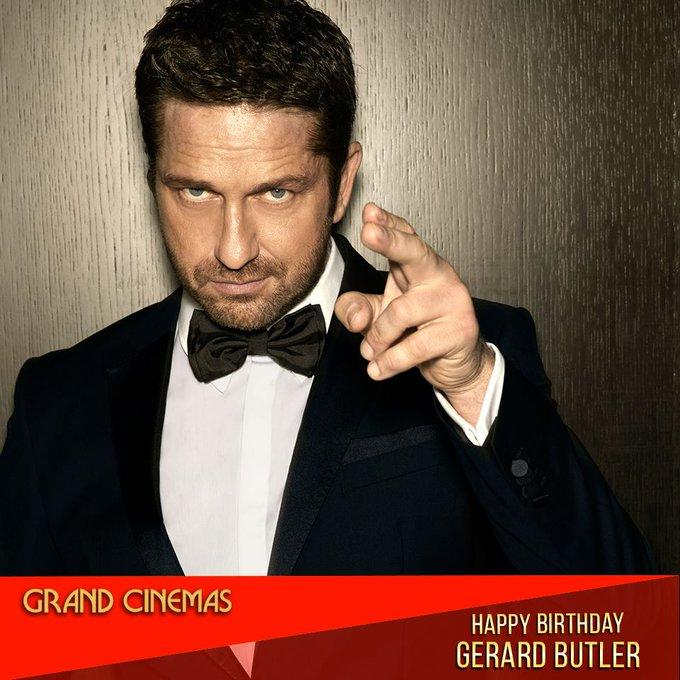 Happy Birthday, Gerard Butler !