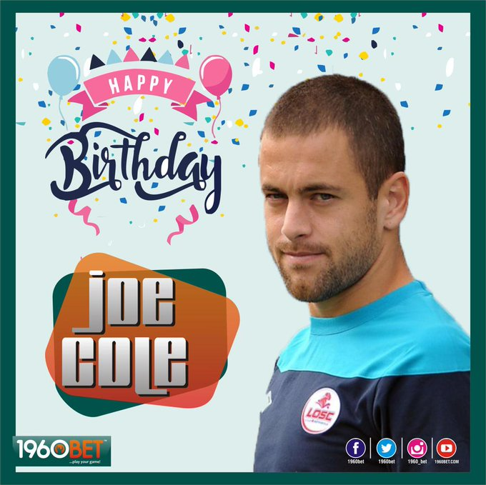 It\s Joe Cole\s 36th Birthday.  Happy celebration to the