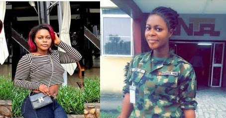 Sexy Nigerian Female Soldier Shows Off Her Curves In Tight Jean And Crop Top https://t.co/Jj2xj1xd8g https://t.co/PdcB9T2E7K