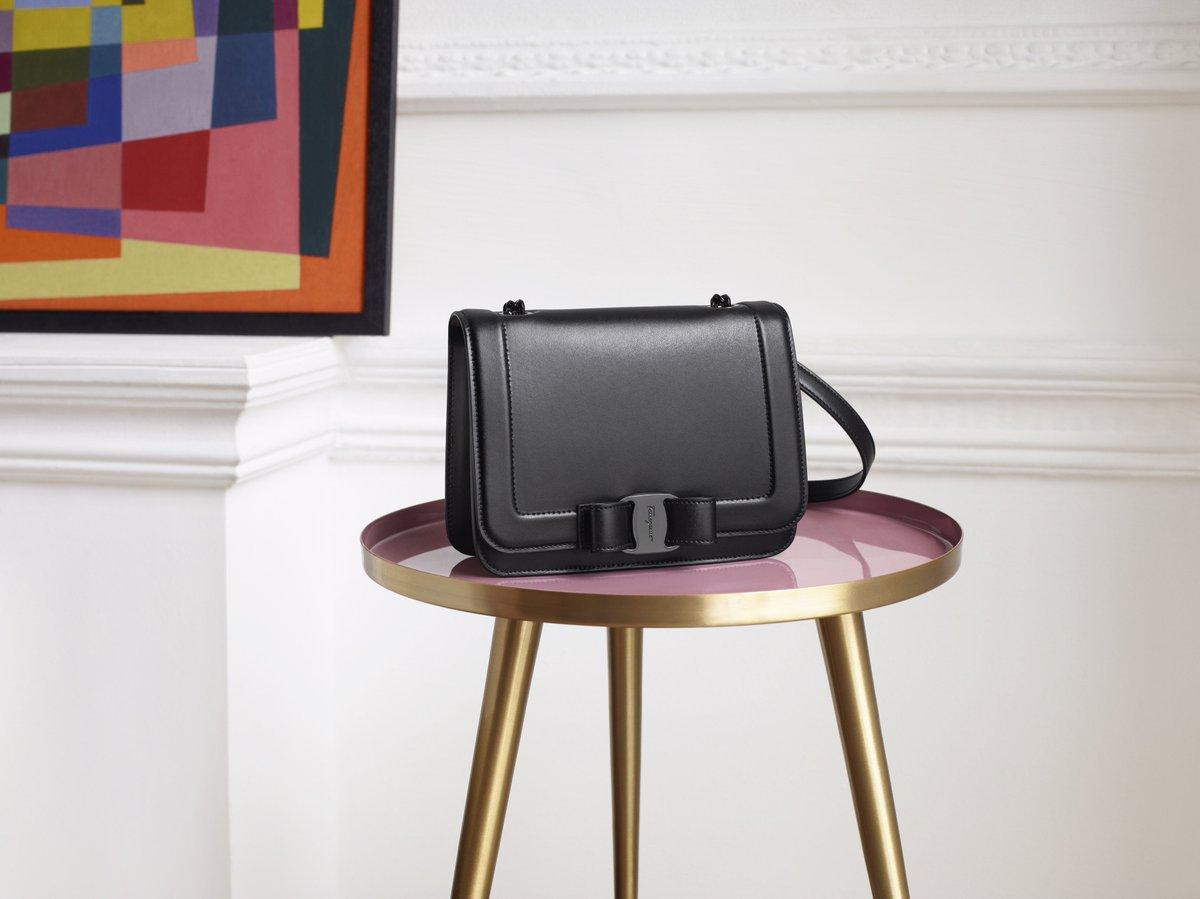 The Vara Rainbow Bag takes a elegant edge in black. #VaraAndI Discover more: https://t.co/uP4qMcehSc https://t.co/GAFRFI7dFr