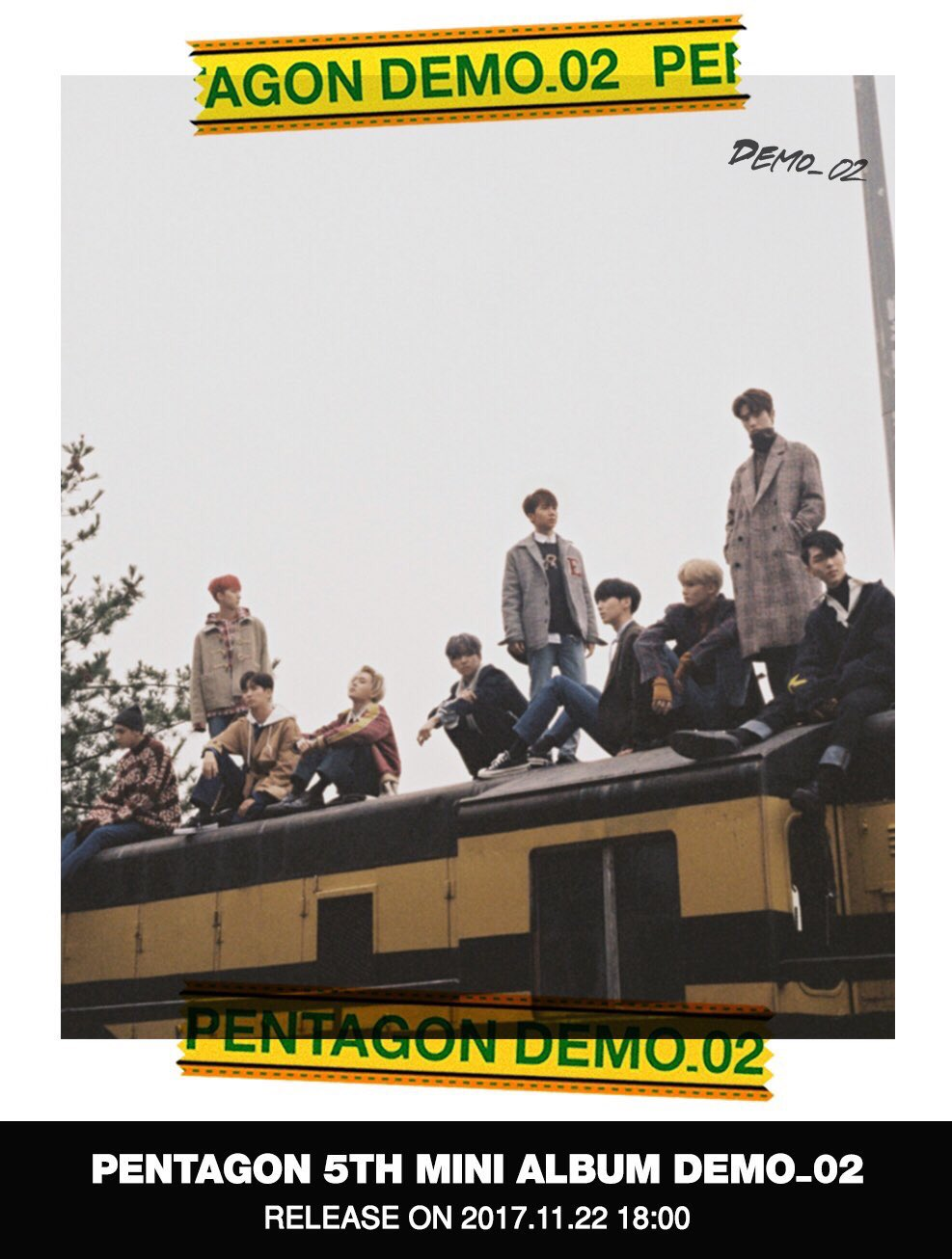 PENTAGON will be back with 5th mini album [DEMO_02]. Guess who's excited?? Us! �� @CUBE_PTG https://t.co/ZsjZWP2mF1