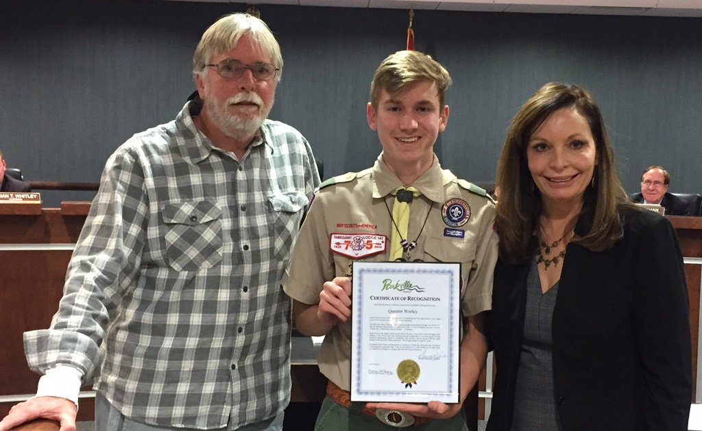 test Twitter Media - At last night's @parkvillemo Board of Aldermen meeting Mayor Johnston and Nature Sanctuary Director Joe Ryan presented certificates of recognition to Quentin Worley and Peyton Cridlebaugh for their Eagle Scout projects at the Parkville Nature Sanctuary. https://t.co/Lv5siDoRti