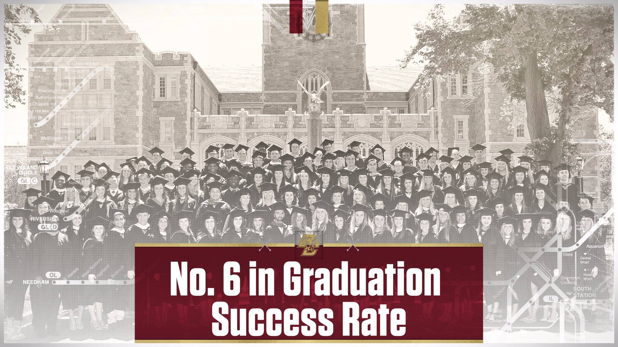 NEWS: Boston College Sixth in the Nation in Graduation Success Rate   �� https://t.co/2j6CPjRVXz  #BCEagles https://t.co/tbQGnvzuyJ