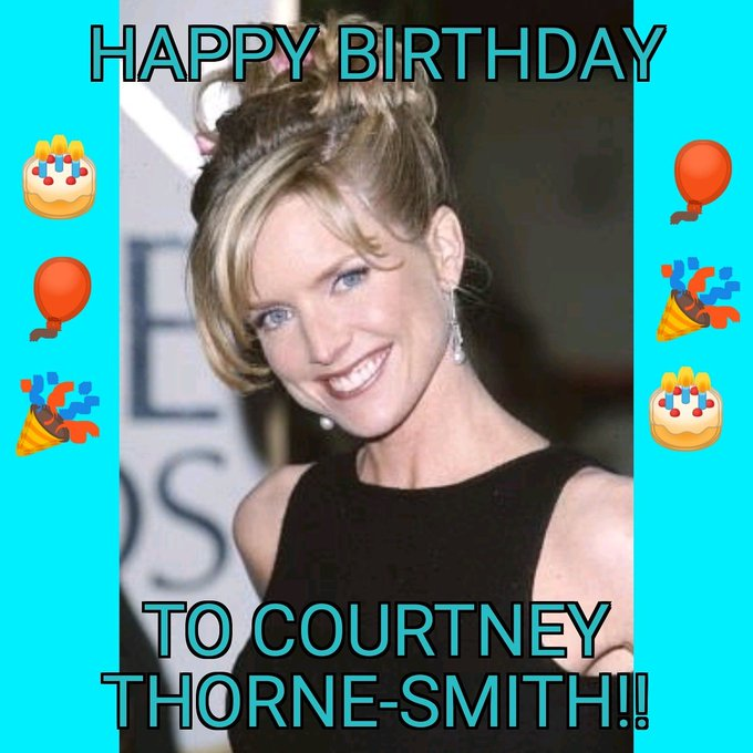Happy Birthday to Courtney Thorne-Smith!