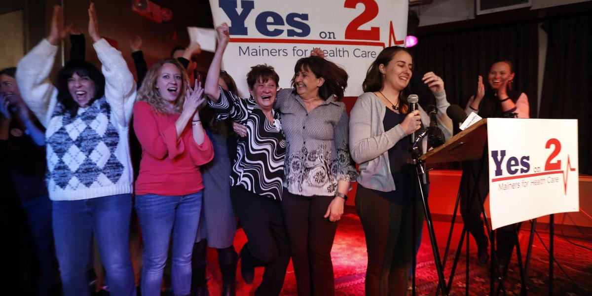 Maine gov says voters wrong to OK Medicaid expansion