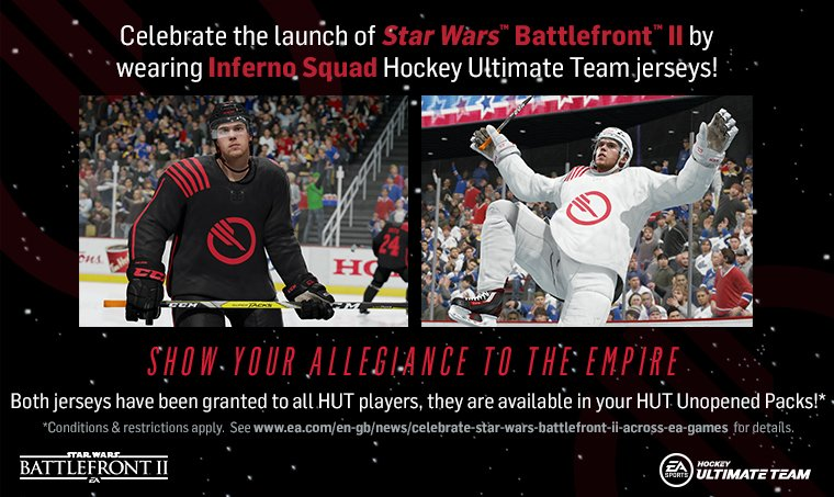 Suit up for the Inferno Squad in #NHL18 https://t.co/7rRnQ7OC0x