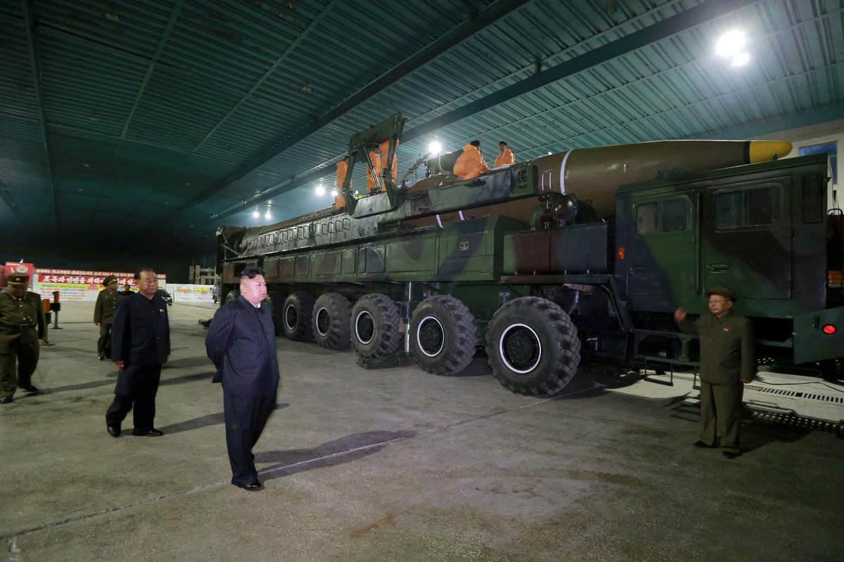 North Korea tells worried Europeans to relax, as Kim's nukes are meant for U.S. only