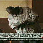 FORD Kenya's Richard Onyonka retains parliamentary seat