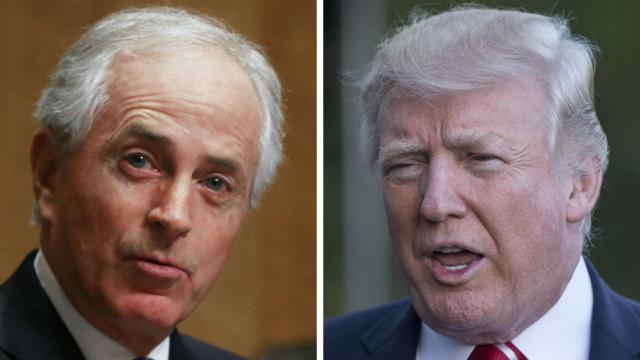 Corker to hold hearing on Trump's nuclear weapons authority https://t.co/qf5yVf8DnX https://t.co/3vFOBWu3ih