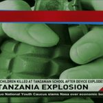 6 children killed at Tanzanian school after device explodes
