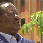 Raila Odinga calls for formation of interim government