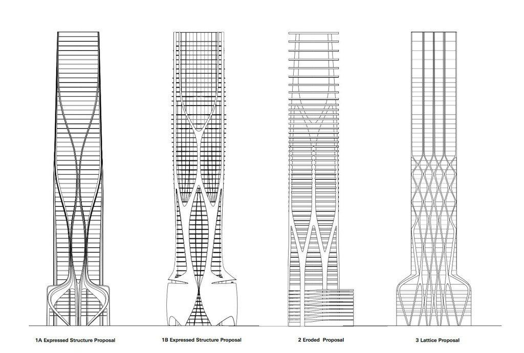 structural design of zaha hadid