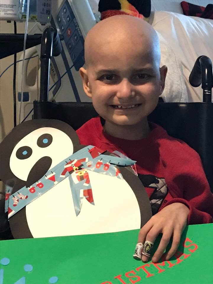 Massachusetts police caravan to Maine to 'lift the spirits' of a 9-year-old cancer patient