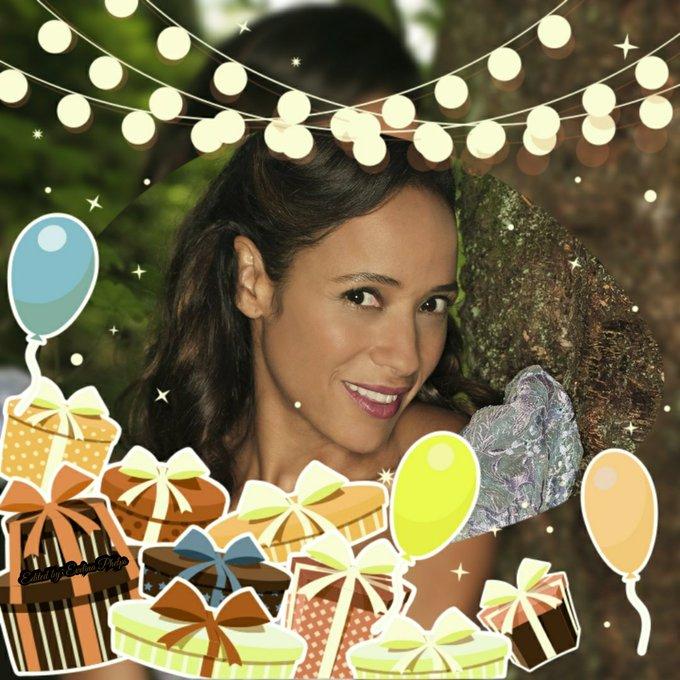 Happy Birthday to Dania Ramirez aka Cinderella...   Photo edit by~Me