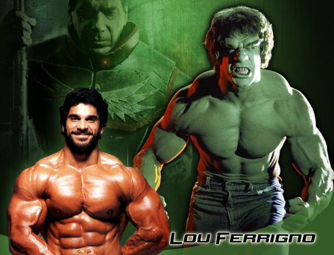 Happy Birthday to Lou Ferrigno who turns 66 today!