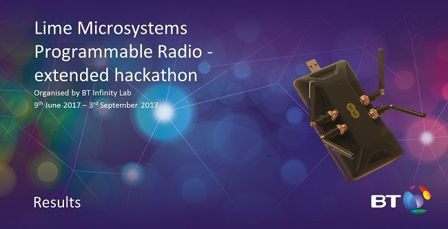test Twitter Media - GTI group of atlanTTic finalist of the British Telecom Lime Microsystem Hackaton 2017.  #SDN #5G #LTE  https://t.co/OxZg3tvXOw https://t.co/lXldnXQCLS
