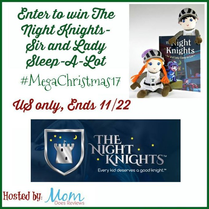 The Night Knights! (2 dolls and a book) GA-1-US-Ends 11/22