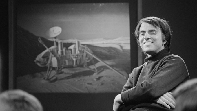 Today would\ve been Carl Sagan\s 83rd birthday. Happy birthday, Carl!  ( :