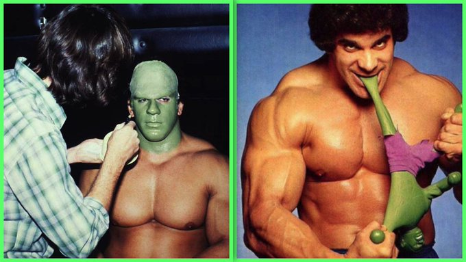 Wishing Lou Ferrigno an Incredibly Happy 66th Birthday! Everyone has his own little Hulk inside him.