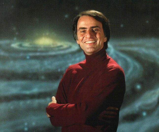 Happy birthday Carl Sagan.