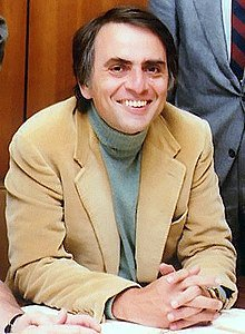 """Happy Birthday Carl Sagan - born this day in 1934. \""""We are a way for the cosmos to know itself.\"""""""