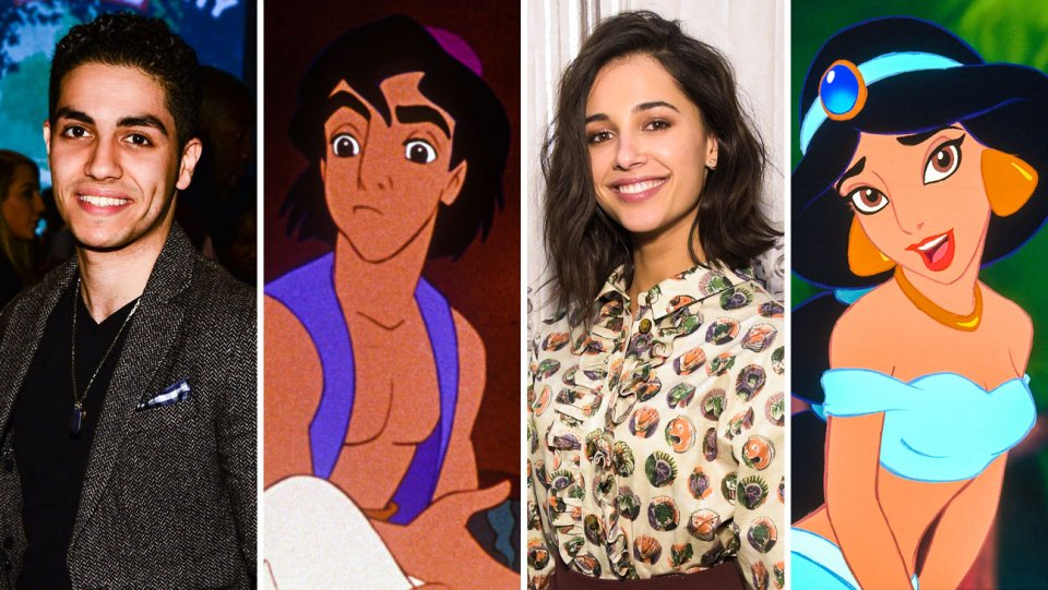 Aladdin: Meet the cast of @Disney's live-action reboot
