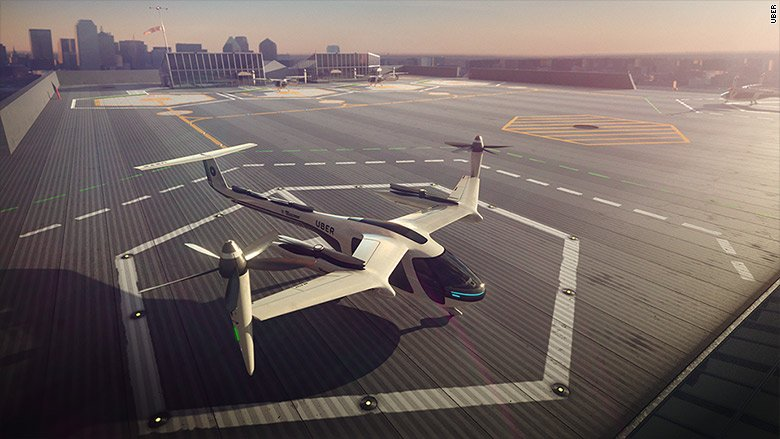 Uber is partnering with NASA on flying taxis