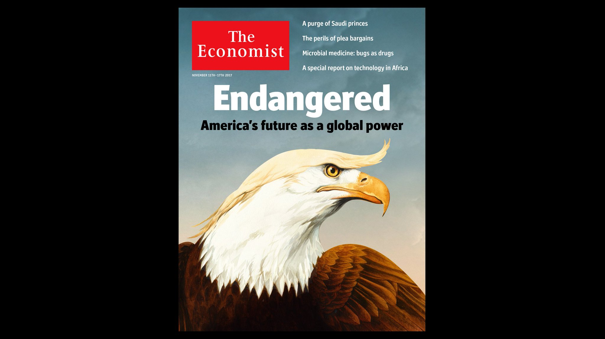 American influence has dwindled under Donald Trump. It will not be simple to restore. Our cover this week https://t.co/QQk06D247z
