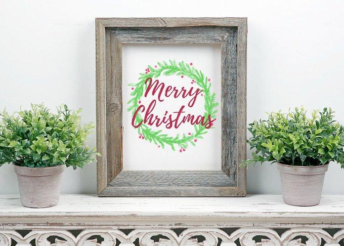 Free Merry Christmas Printable + Cash For Christmas Giveaway