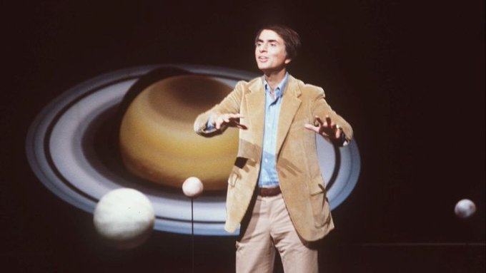 Happy birthday to Carl Sagan, everyone\s favorite intergalactic hype man.