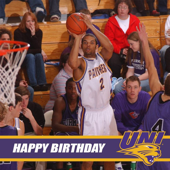 Happy birthday to former Panther player Matt Bennett.  Have a great day Matt!
