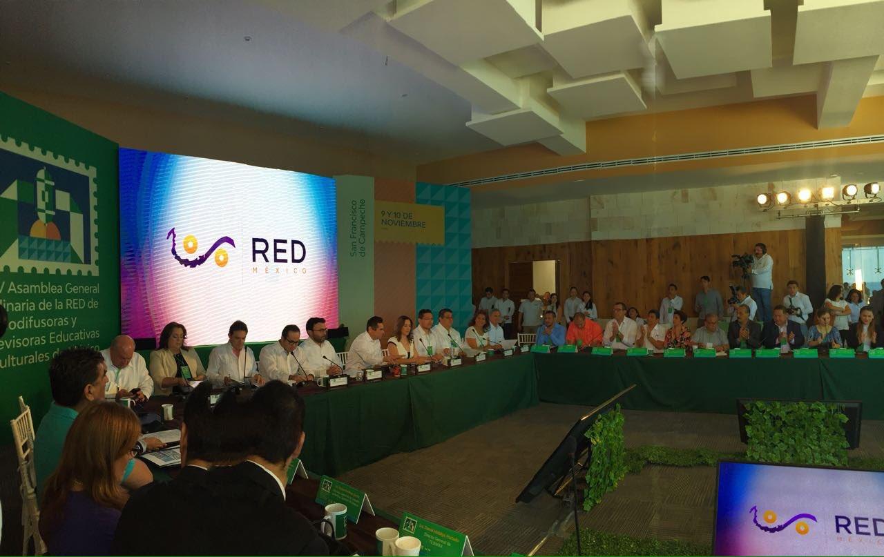 Inicia en Campeche la XXV Asamblea de la @laREDMX. Deseamos éxito en sus trabajos. https://t.co/Ak2hnPdwiy