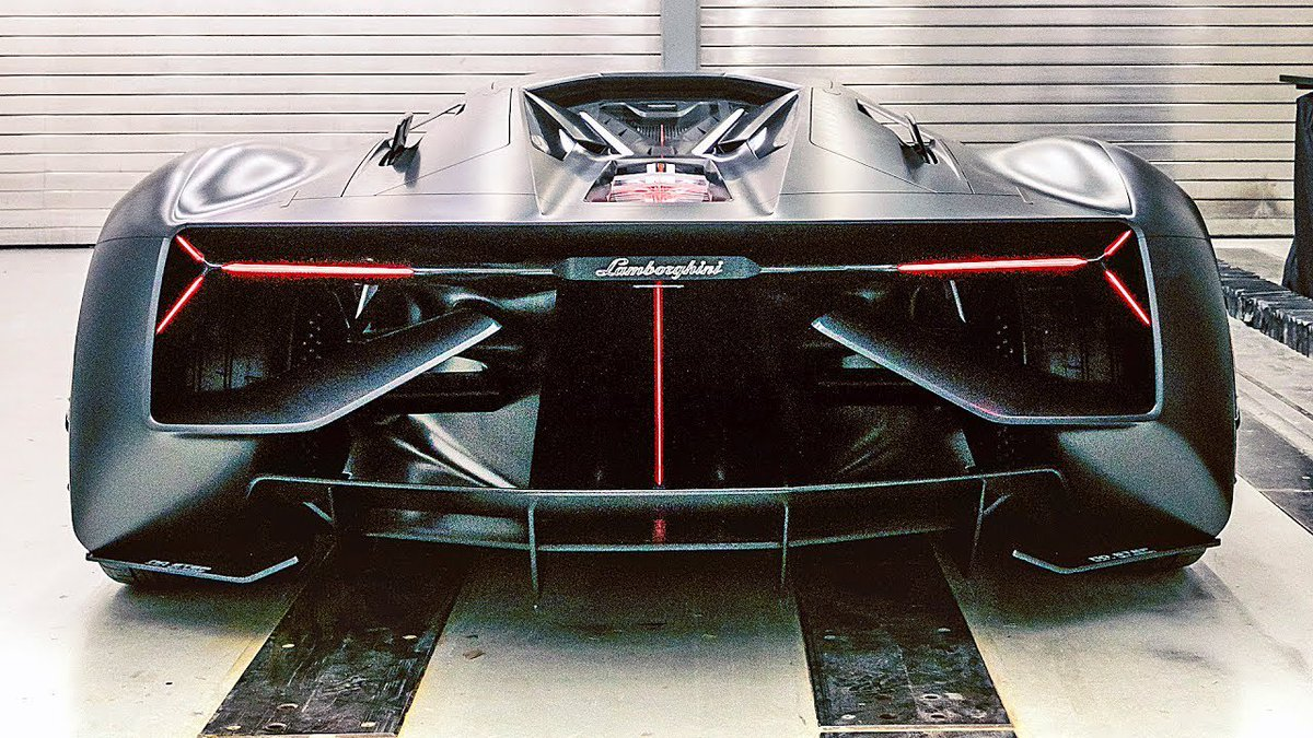 Lamborghini Terzo Millennio – Sports Car of the Future - Dauer: 103 Sekunden