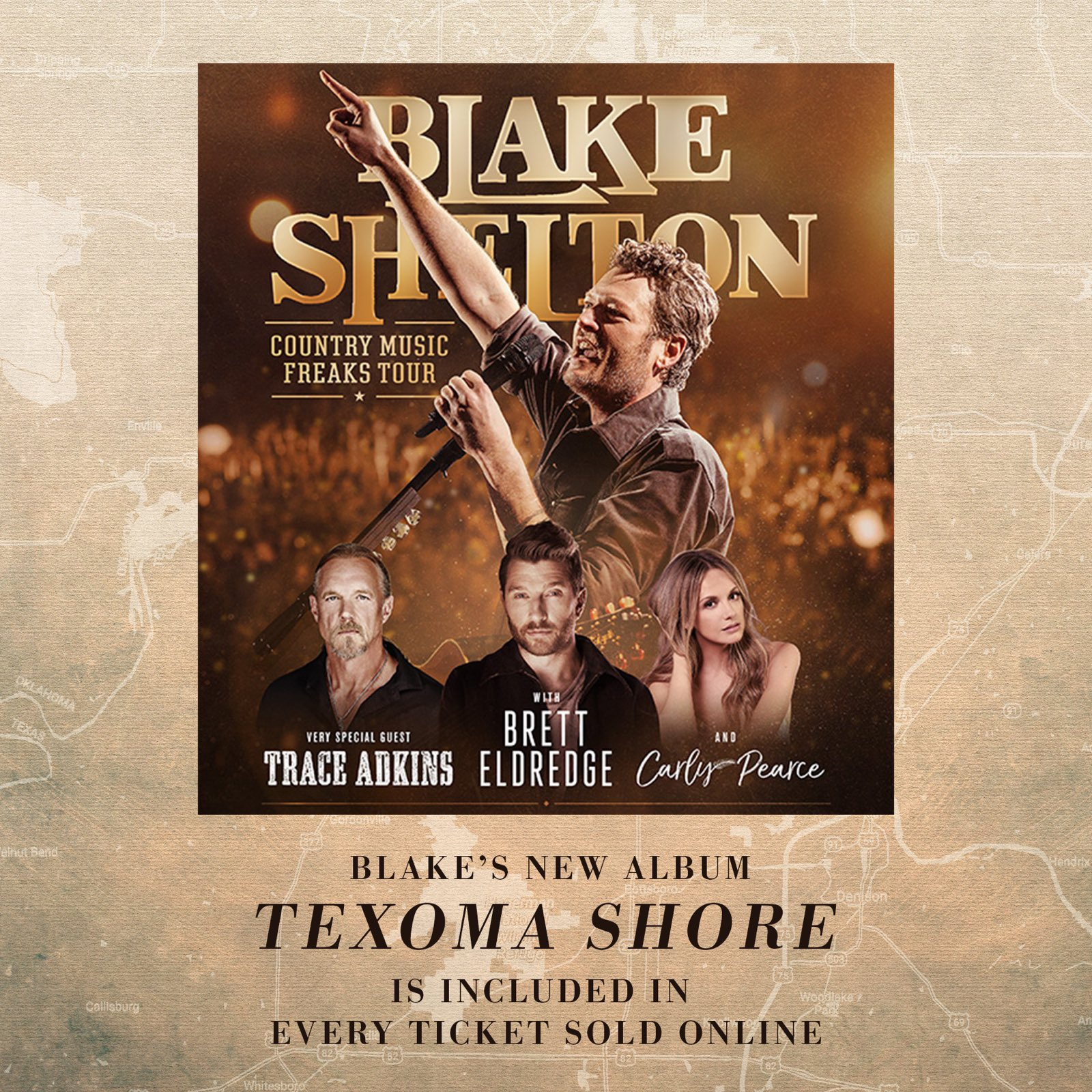 Don't forget to redeem your copy of #TexomaShore if you've got presale tickets to the Country Music Freaks Tour! https://t.co/8wPCd3IM81