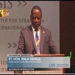RAILA ODINGA ON KENYAN ELECTIONS