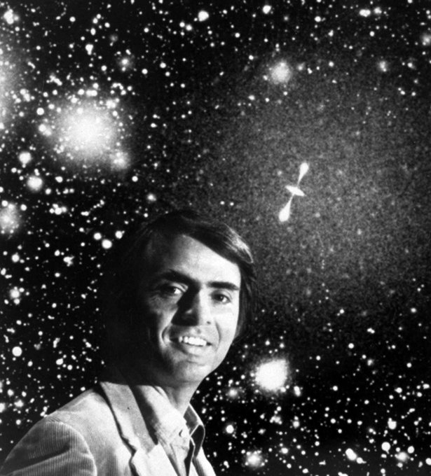 Happy Birthday, Carl Sagan. We miss you.