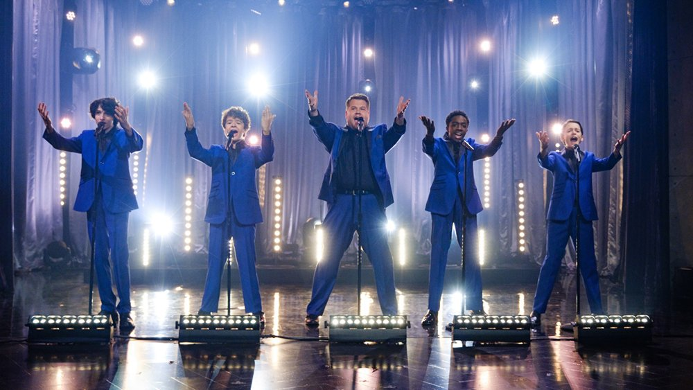 StrangerThings kids sing Motown medley with James Corden