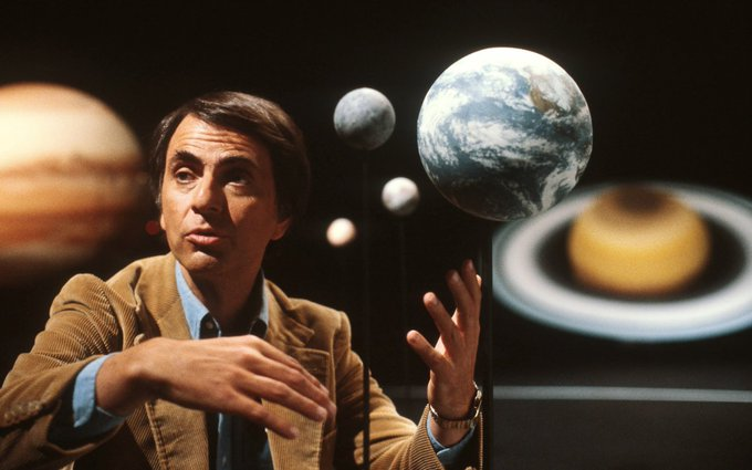 Happy birthday, Carl Sagan
