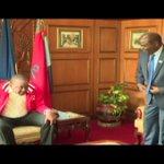 President Uhuru Kenyatta hold meeting with IEBC