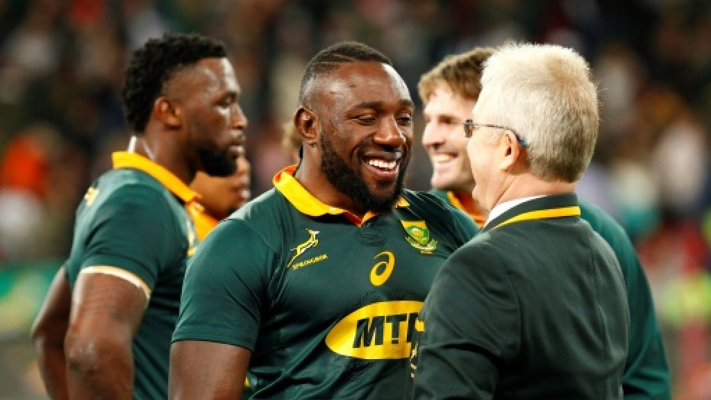 Coetzee recalls South Africa's 'Beast' to tackle Irish