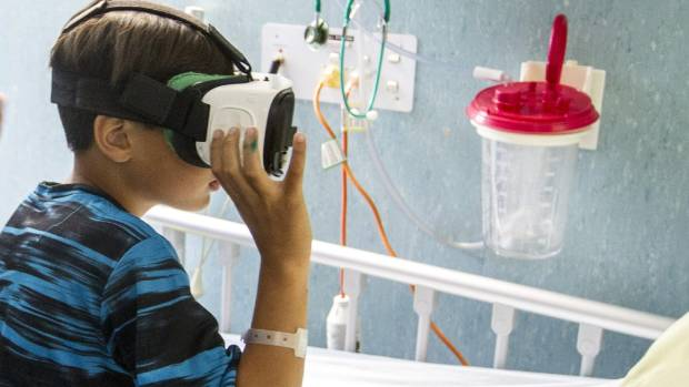 Virtual reality makes hospital easier for sick kids, attracts iwi investment