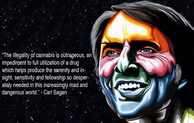 Happy Birthday to the brilliant Carl Sagan.