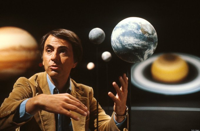 Happy birthday Carl Sagan - this is still a fine tribute.