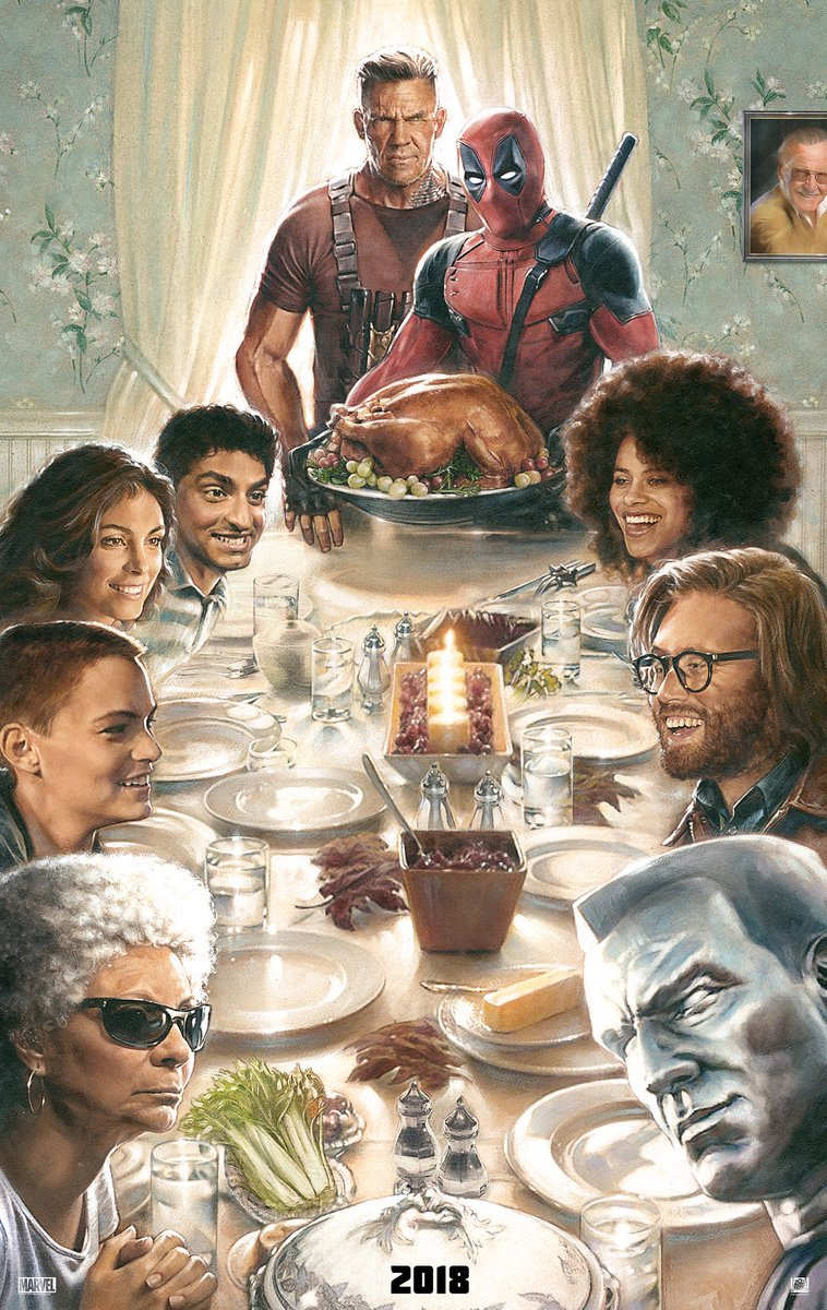 This Thanksgiving, spend time with #Deadpool. https://t.co/ndG0k9Ifzb