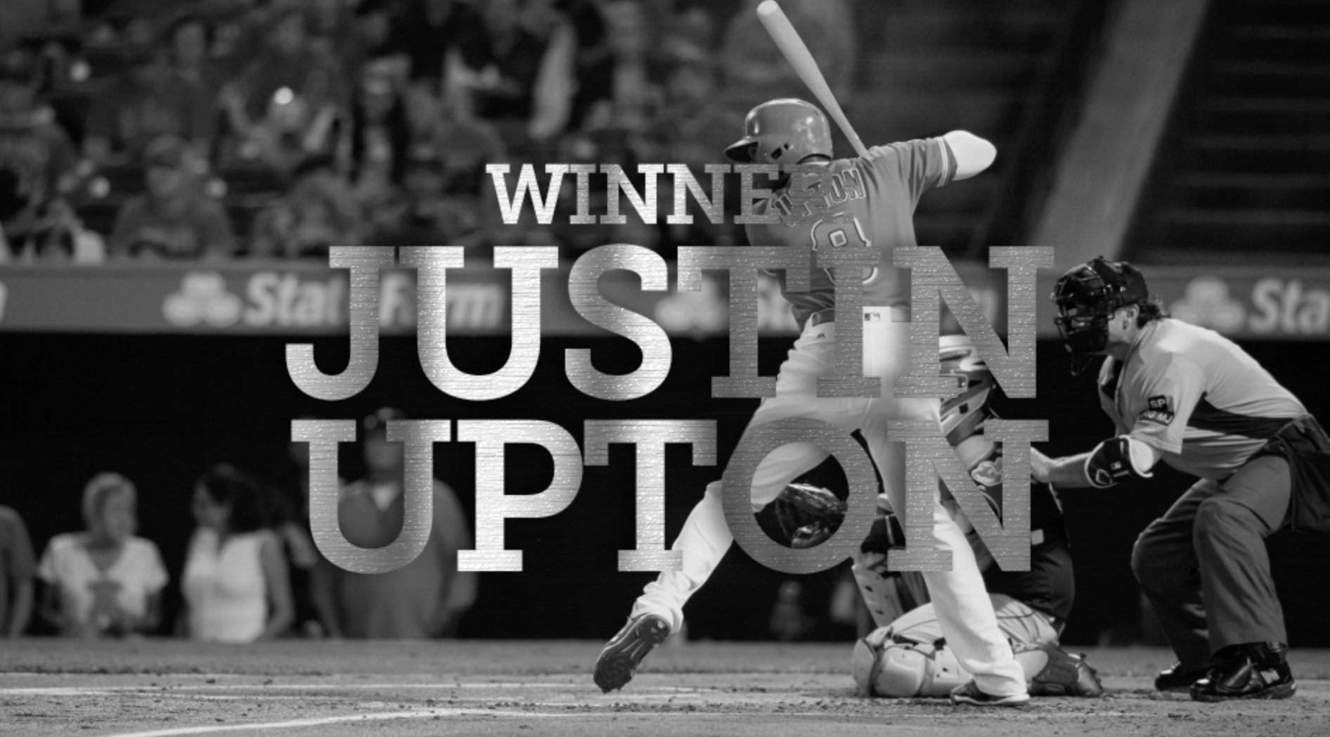 Good things come in threes...  Congratulations to @JUST_JUP on his third career Silver Slugger Award! https://t.co/5VQWXsUpHB