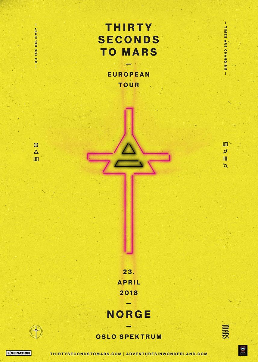 #SoonIsNow! Europa-turnéen våren 2018 er i salg nå!  �� https://t.co/ytFupXAMfk https://t.co/BbJUFTRxTQ
