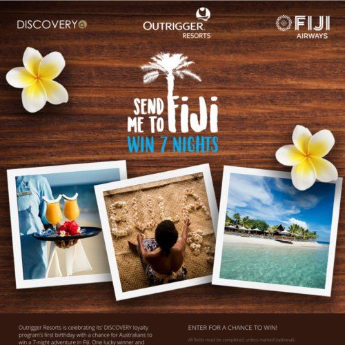 Win Trip to Fiji Giveaway December 2017